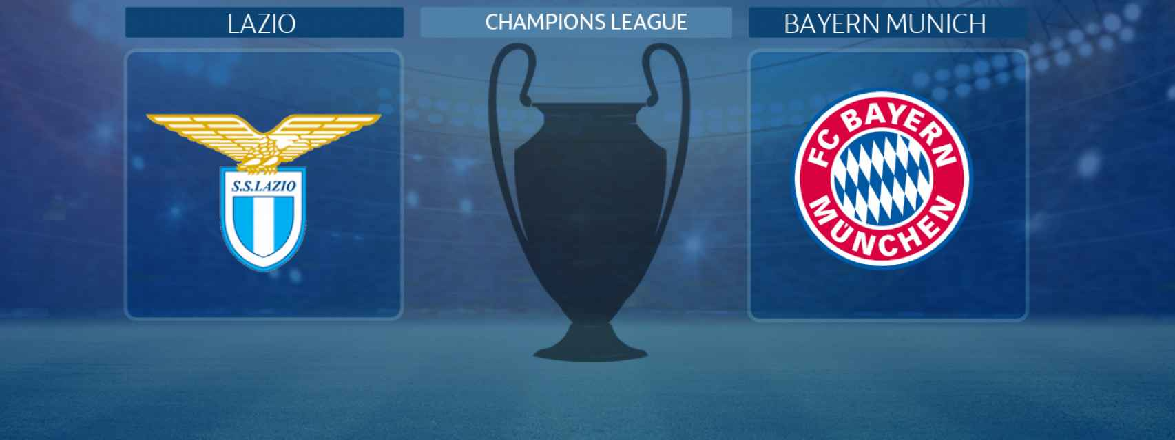 Lazio - Bayern Munich, partido de la Champions League