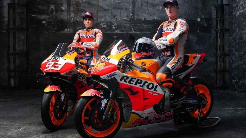 Así es la RC213V, la Honda de Marc Márquez y Pol Espargaró en 2021