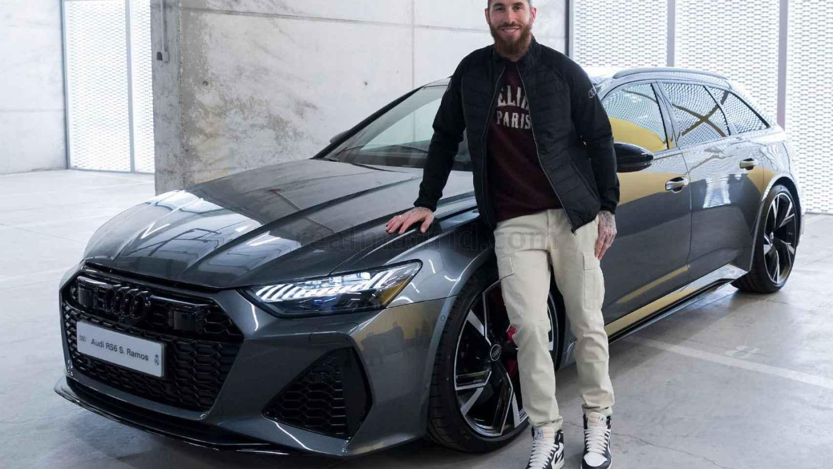 Audi entrega los nuevos coches oficiales a la plantilla del Real Madrid