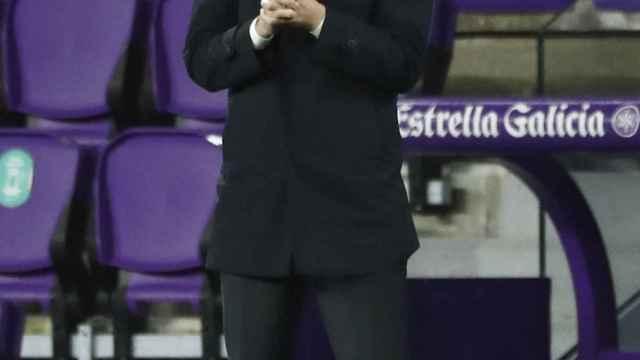 Zinedine Zidane, durante un partido de esta temporada