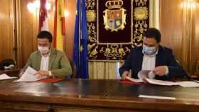 José Luis Escudero y Álvaro Martínez Chana