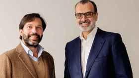 Juan Filiberto Martínez y Fernando Castiñeiras, impulsores de la fusión de Athos Capital y Capitana Venture Partners.