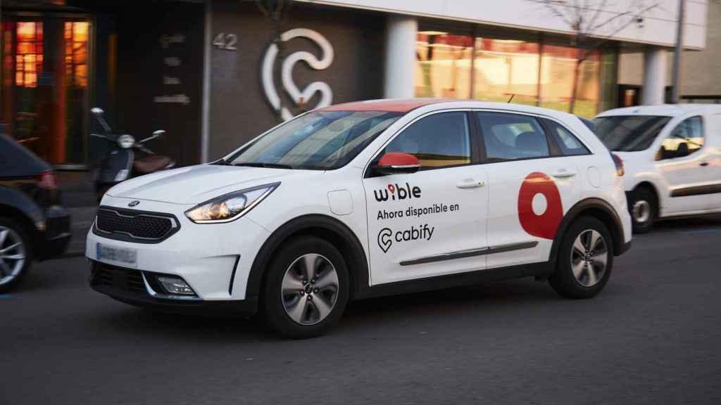 Imagen de un coche de Wible.