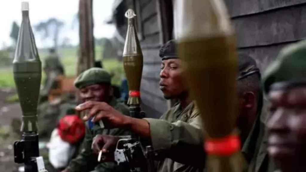 Militares congoleños en una imagen de archivo.