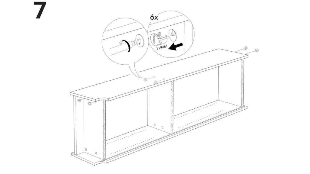El orden de los pasos será vital para reaprovechar un mueble de Ikea