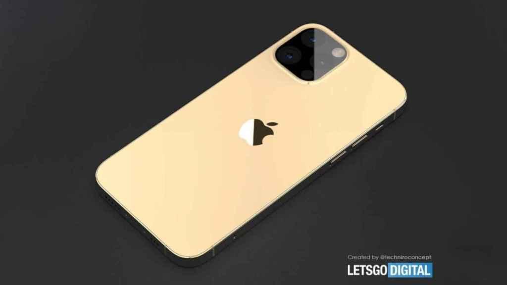 Renders del iPhone 13