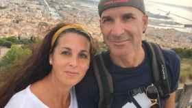 Raquel, junto a su marido, José Manuel Arcos, en el crucero con el que celebraron sus bodas de plata.