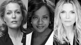 Gillian Anderson, Viola Davis y Michelle Pfeiffer protagonizan 'The First Lady'.