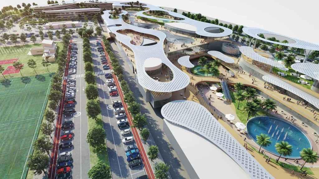 Imagen del proyecto de AQ Acentor en Turianova (Valencia).