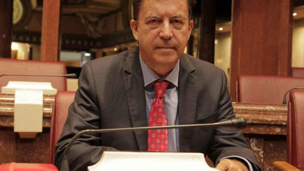 El portavoz de Ciudadanos en la Asamblea Regional, Juan José Molina.