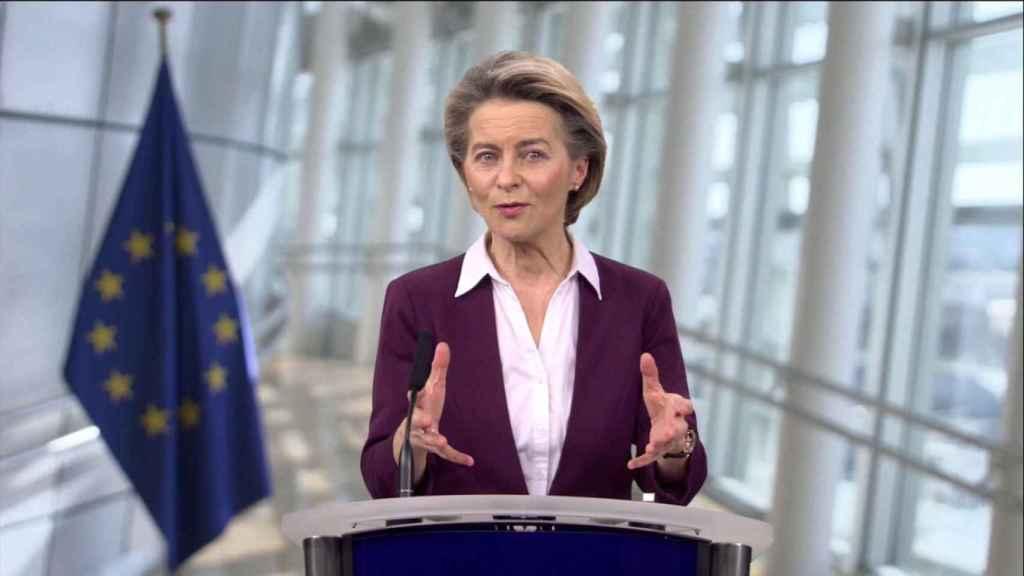La presidenta de la Comisión Europea, Ursula Von der Leyen, en DLD All Stars.