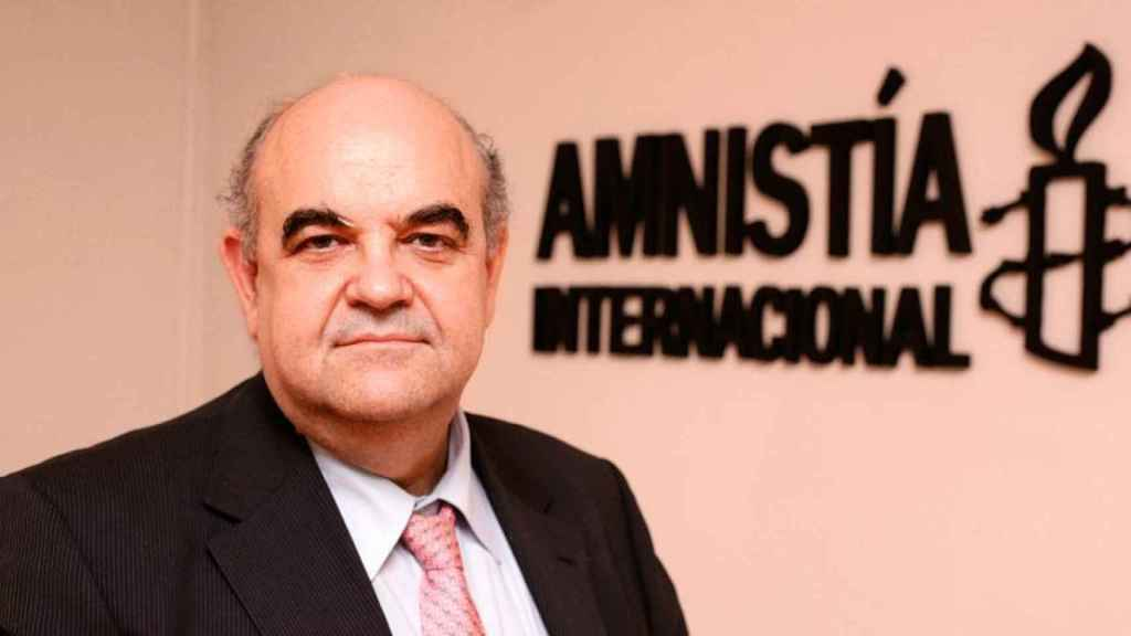 Esteban Beltrán, director de Amnistía Internacional España desde 1997.