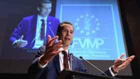 El presidente de la FVMP, Rubén Alfaro (PSOE).