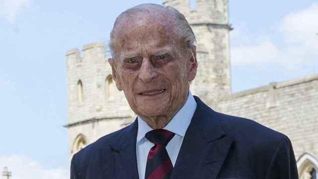 El duque de Edimburgo en Windsor, en enero de 2020.