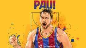El anuncio oficial de la vuelta de Pau Gasol al Barça. Foto: fcbarcelona.cat
