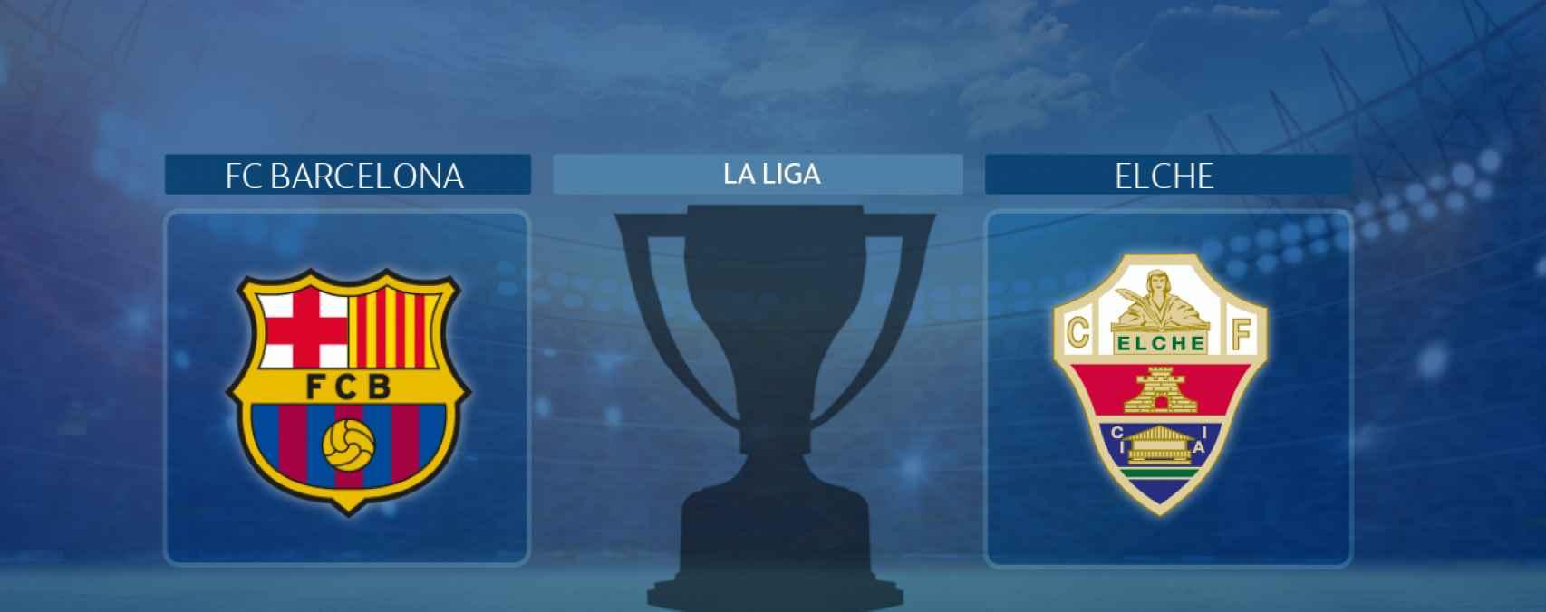 FC Barcelona - Elche, partido de La Liga