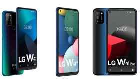 Nuevos LG W41, W41+ y W41 Pro: la gama de entrada se renueva