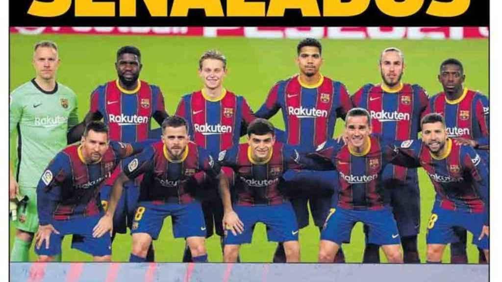 Portada Sport (23/02/21)
