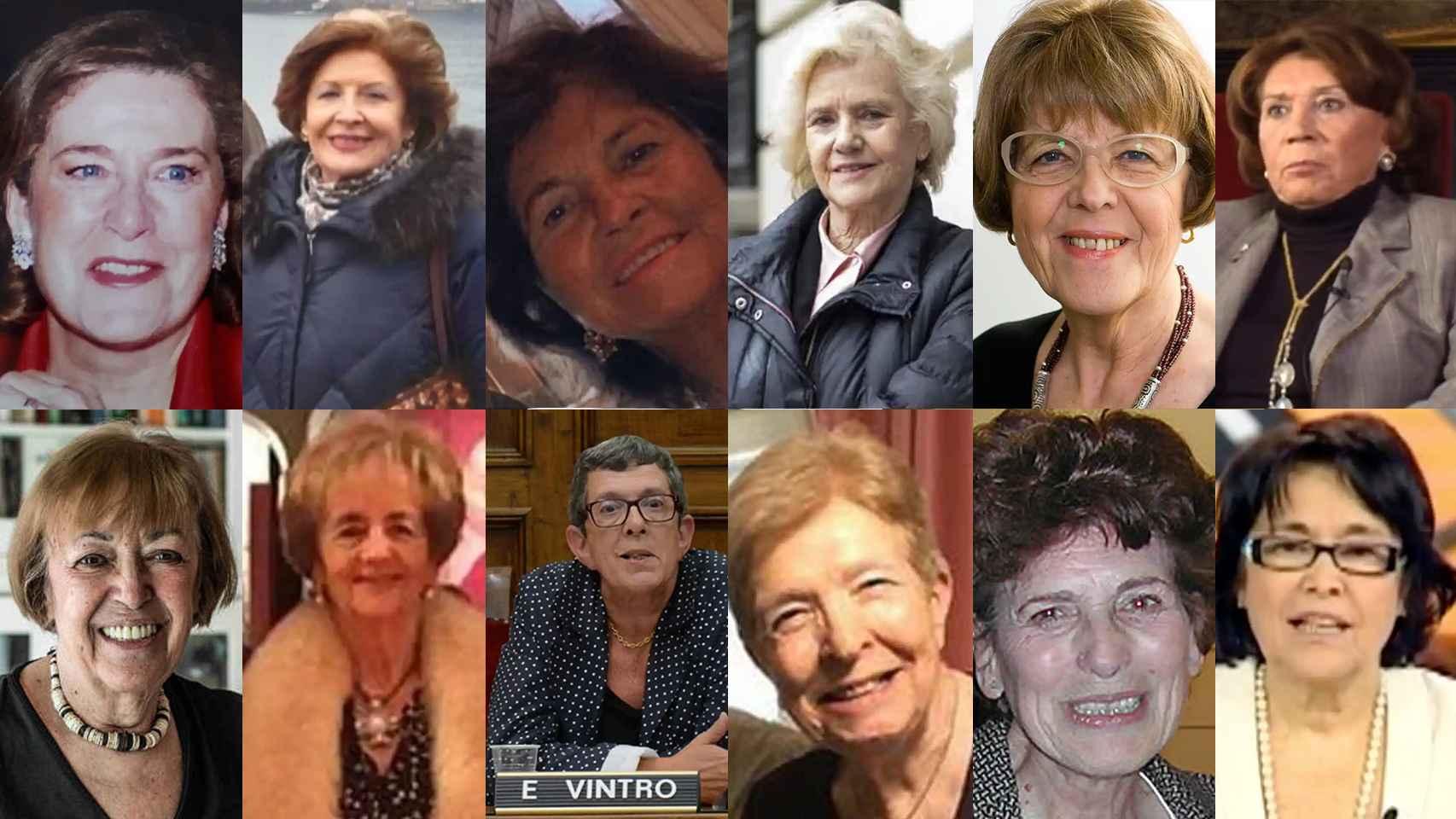 Doce diputadas que vivieron el día del golpe desde el Congreso.