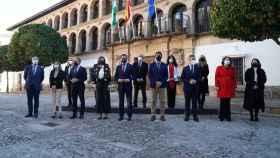 Foto del Consejo de Gobierno este martes en Ronda.