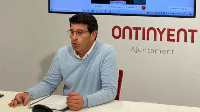 Jorge Rodríguez, expresidente de la Diputación de Valencia y actual alcalde de Ontinyent. EE
