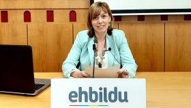 Miren Larrion, exportavoz de EH Bildu en el Ayuntamiento de Vitoria.