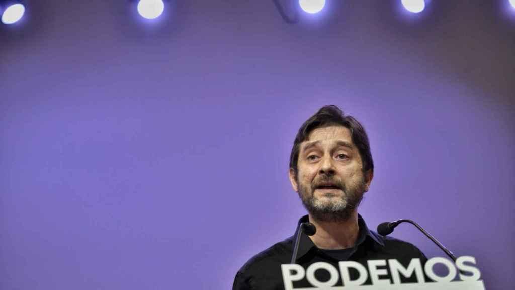 Rafa Mayoral, diputado de Podemos.