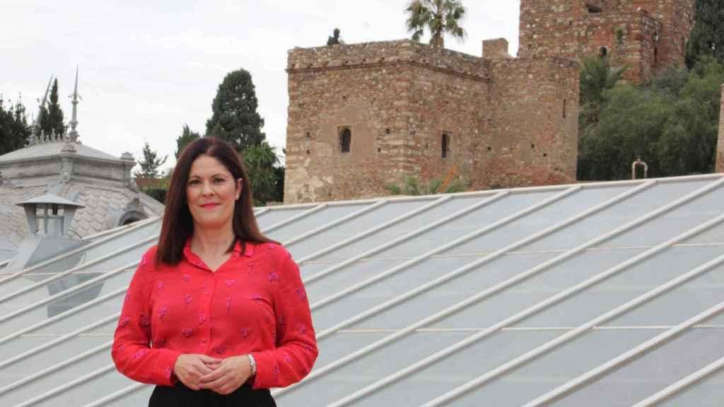 Noelia Losada, concejal de Cs en Málaga.