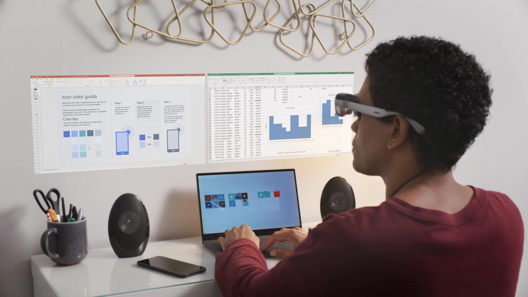 Qualcomm presenta sus propias gafas de realidad aumentada, adelanto de lo que pronto llegará —