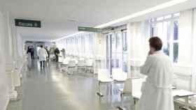 Interior de un hospital en una imagen de archivo.