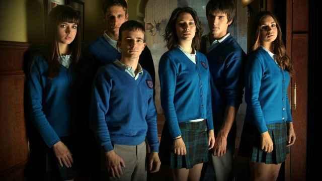 Ana de Armas, Martiño Rivas, Daniel Retuerta, Blanca Suárez, Yon González y Elena Furiase.