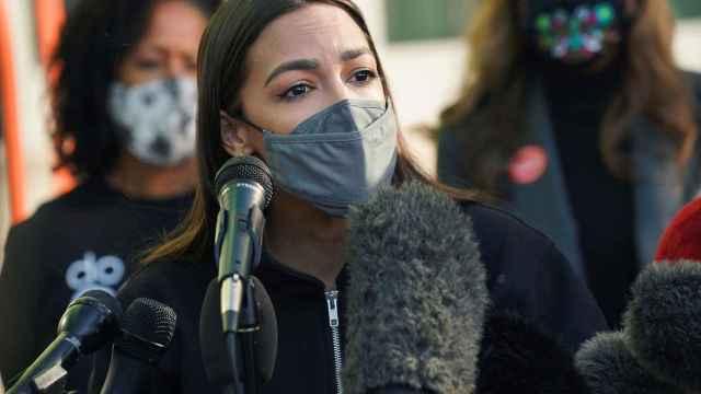 La congresista demócrata Alexandria Ocasio-Cortez.