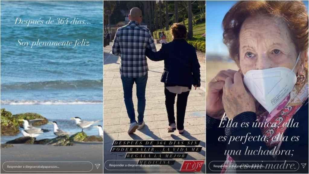 Diego Arrabal dedica un emotivo mensaje a su madre en redes sociales.