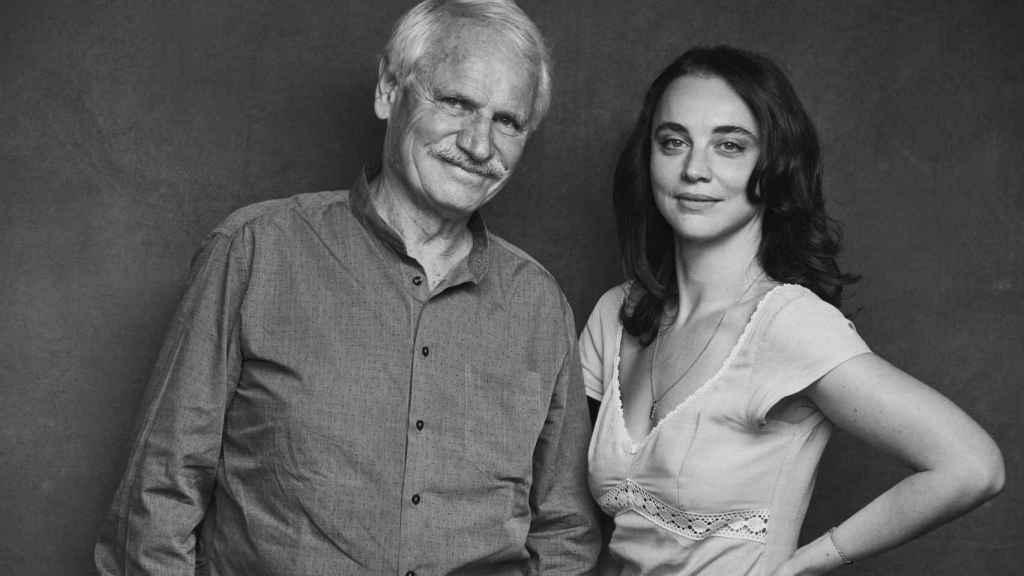 Yann Arthus-Bertrand y Anastasia Mikova, los directores de Woman.