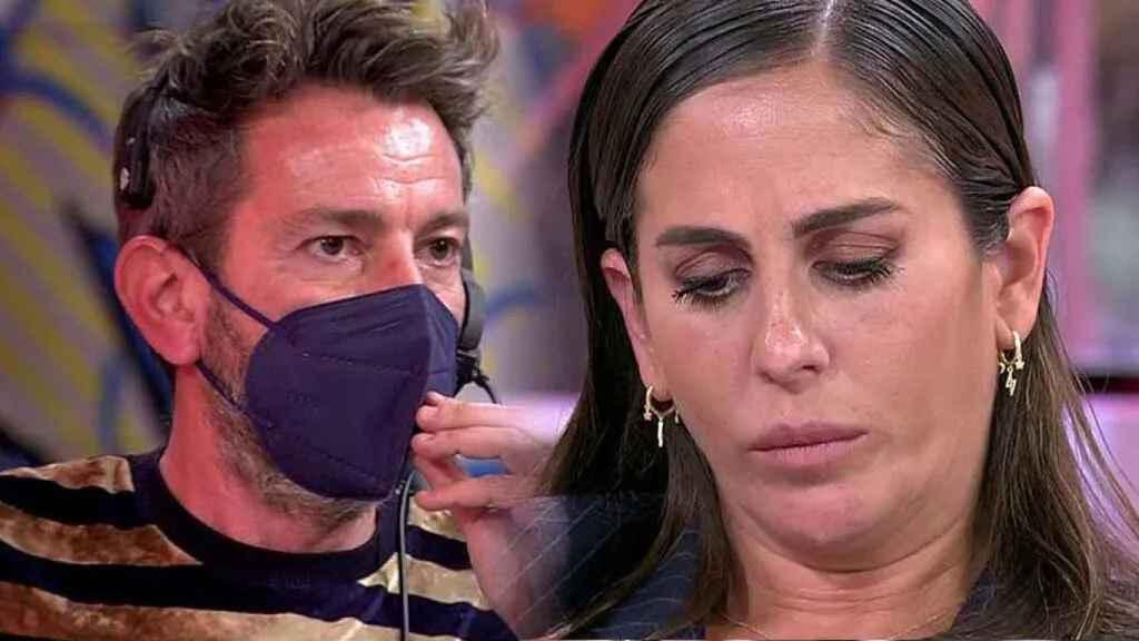 Anabel Pantoja insulta al equipo de 'Sálvame' y David Valldeperas le para los pies