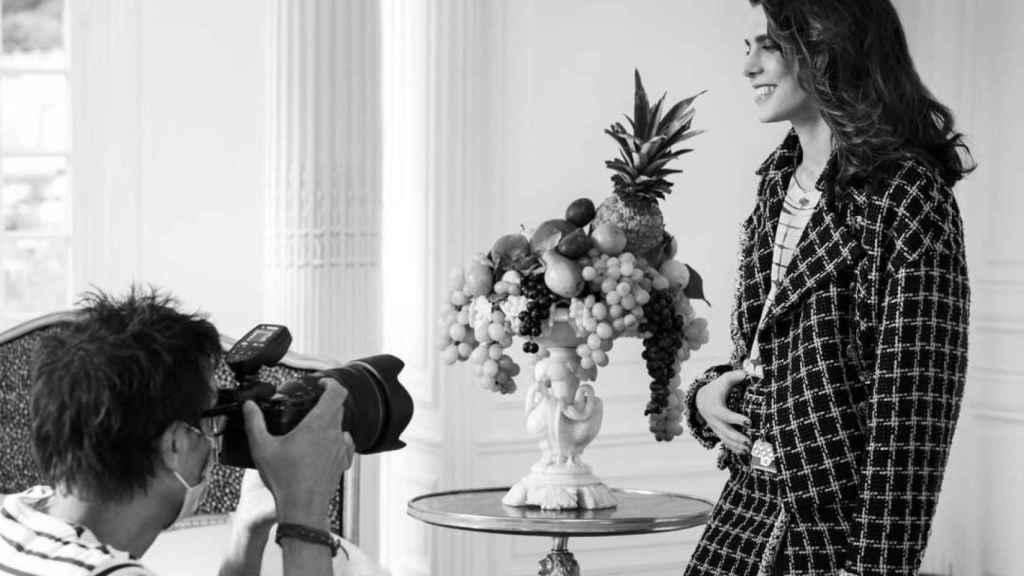 Carlota Casiraghi como embajadora de Chanel.