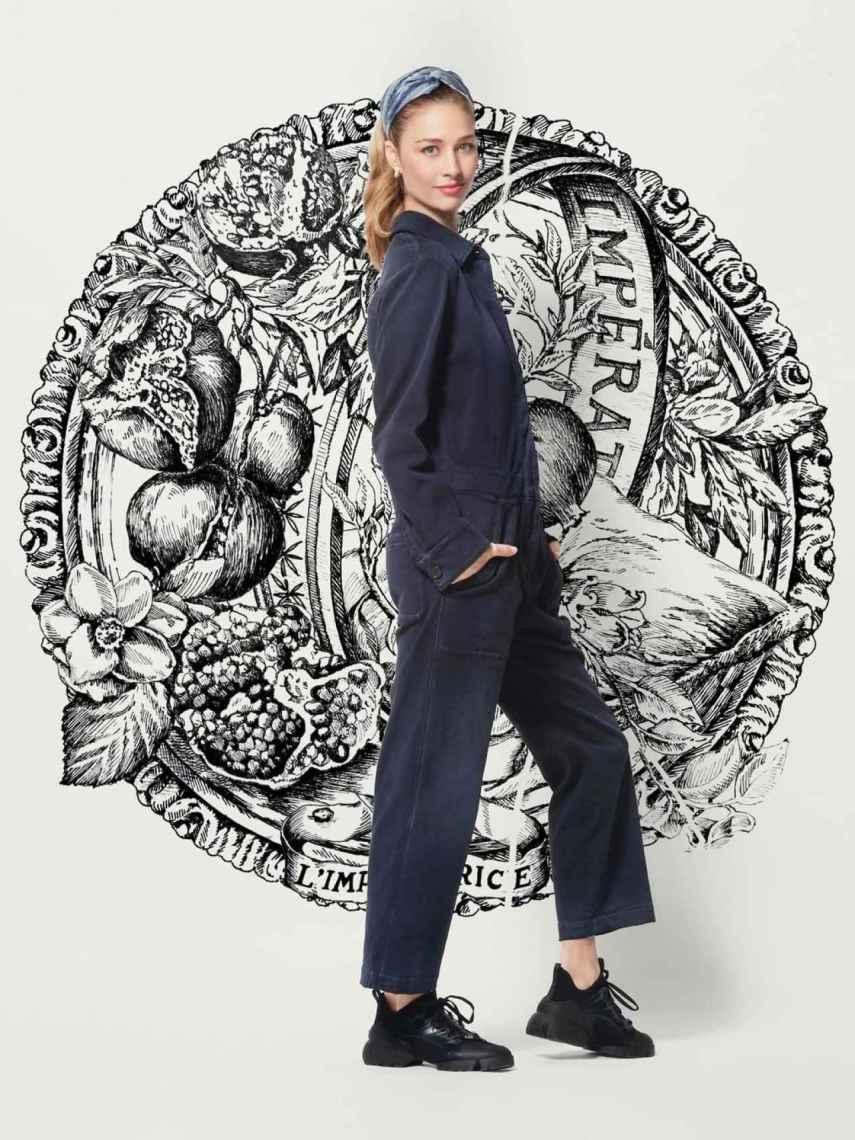Beatrice Borromeo como embajadora de Dior.