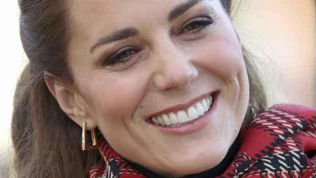 Kate Middleton presumiendo de sonrisa en una imagen de archivo.