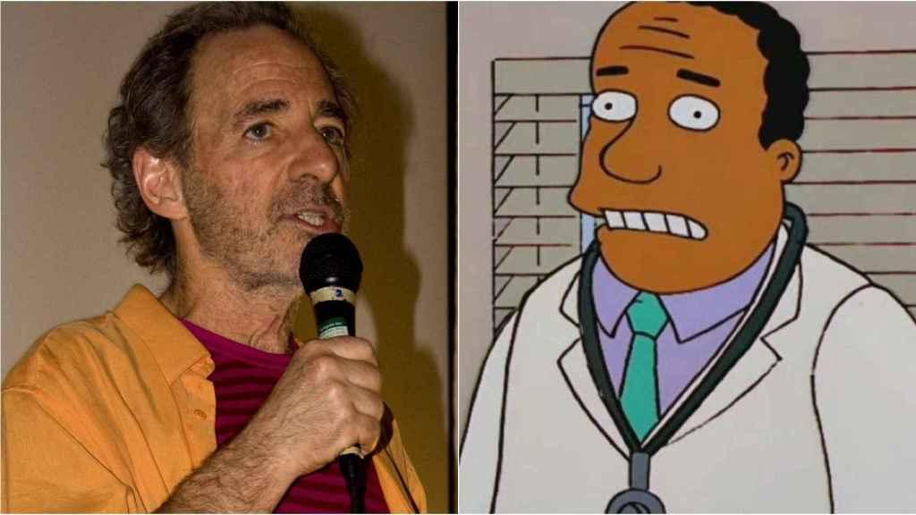 Harry Shearer, mítica voz del Doctor Hibbert.