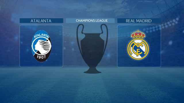Streaming en directo | Atalanta - Real Madrid (Champions League)