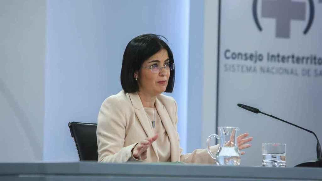 La ministra de Sanidad Carolina Darias.
