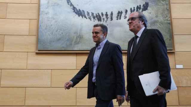 José Manuel Franco y Ángel Gabilondo.