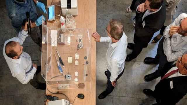 Uno de los últimos talleres de Electrolux con las startups de su programa de aceleración.