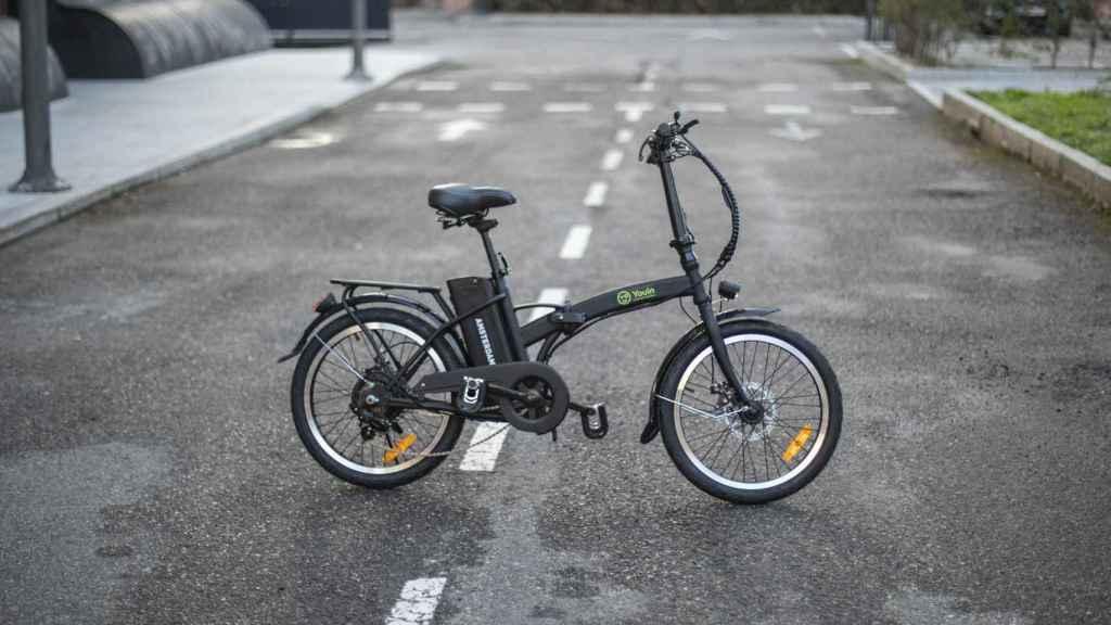 Así es la bicicleta eléctrica de Youin