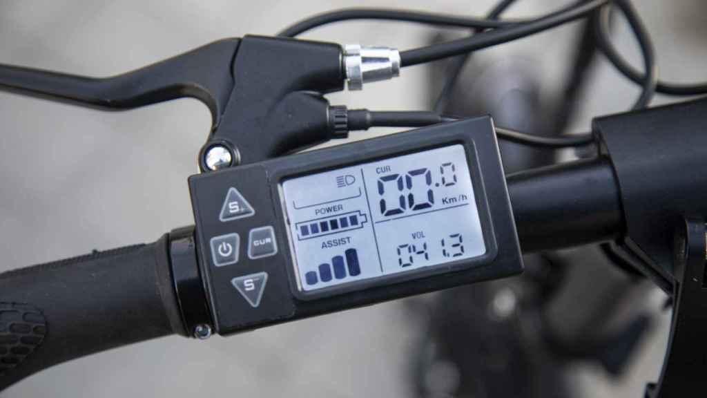 La pantalla muestra toda la información esencial, como los modos de conducción