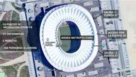 Imagen del Wanda Metropolitano.