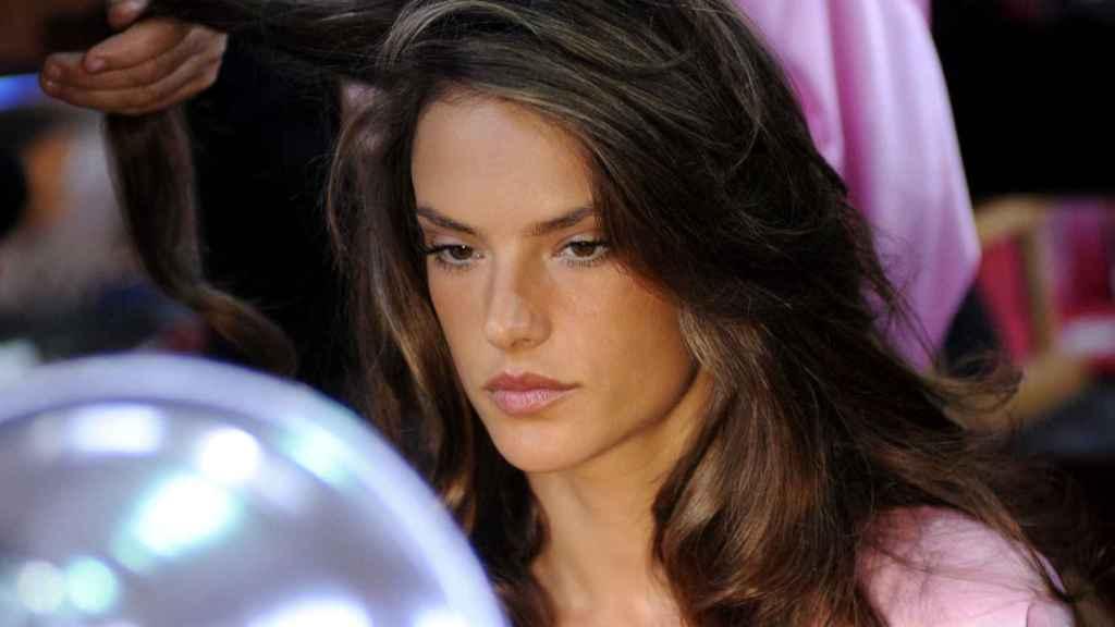 La modelo Alessandra Ambrosio.