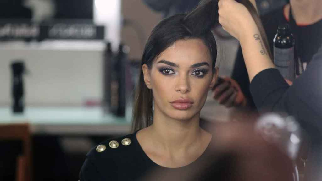 The model Joana Sanz.