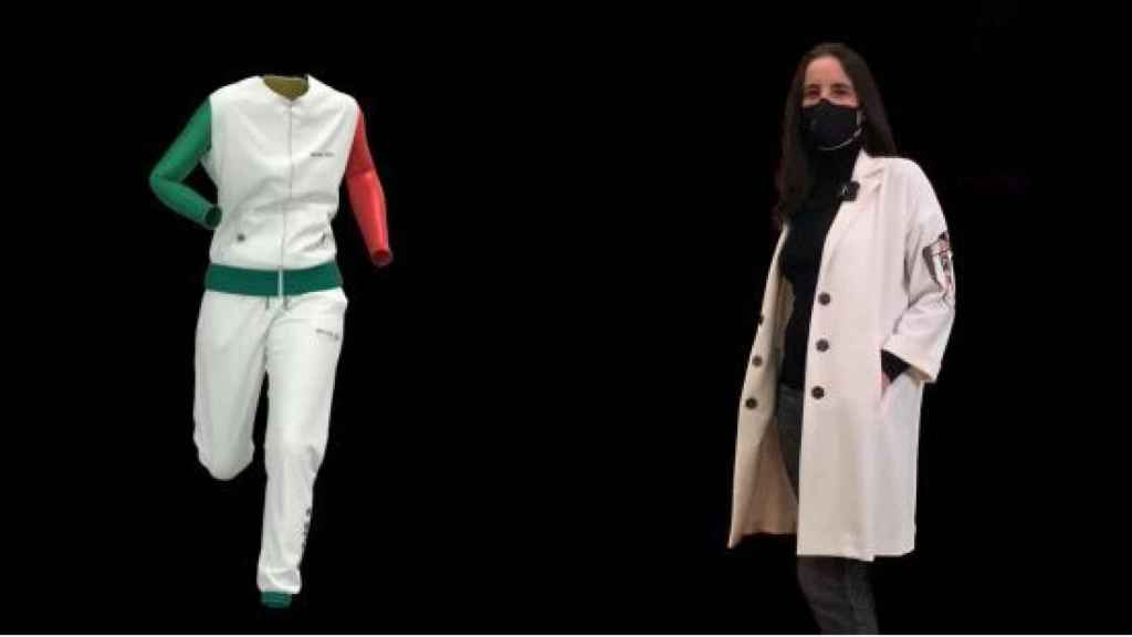 Isabel Basaldúa, Creative Director of La tecnocreativa y Basaldúa, presents the world's first 3D collection with virtual styling.