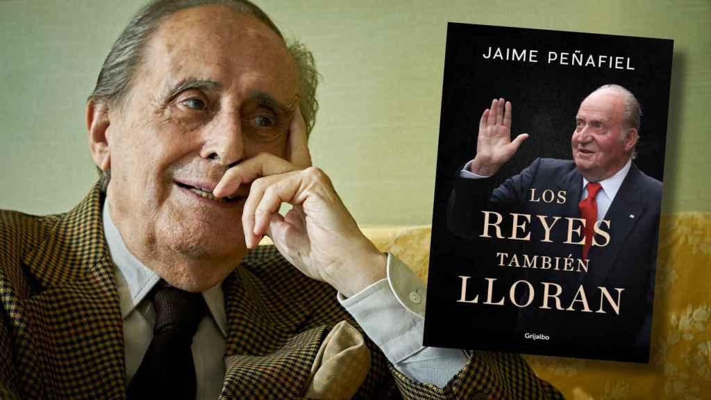 Jaime Peñafiel lanza el próximo 4 de marzo su nuevo libro 'Los reyes también lloran'.
